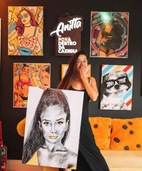 Juliette foi convidada para se hospedar na casa de Anitta (Foto: Instagram)