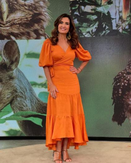 Fátima chama atenção por sua beleza (Foto: Instagram)