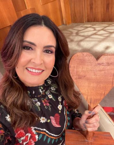 Fátima Bernardes defendeu o uso das máscaras (Foto: Instagram)
