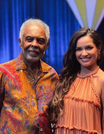 Juliette participou da live de Gilberto Gil para cantar ao seu lado (Foto: Instagram)