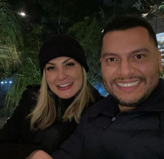 Andressa Urach causou nas redes sociais ao comentar que decidiu ser submissa ao marido, Thiago Lopes (Foto: Instagram)