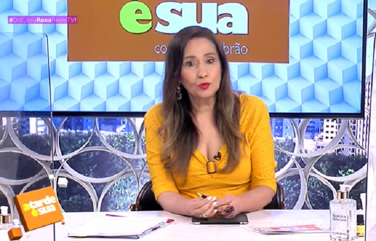 Sonia Abrão alfinetou a emissora: