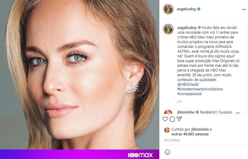 A famosa compartilhou a novidade em suas redes sociais nesta segunda-feira, 28. (Foto: Instagram)