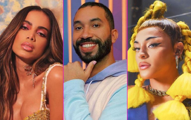 Pesquisa aponta Anitta, Pabllo Vittar e Gil do Vigor como referências para os jovens de 13 a 25 anos.(Foto: Instagram)