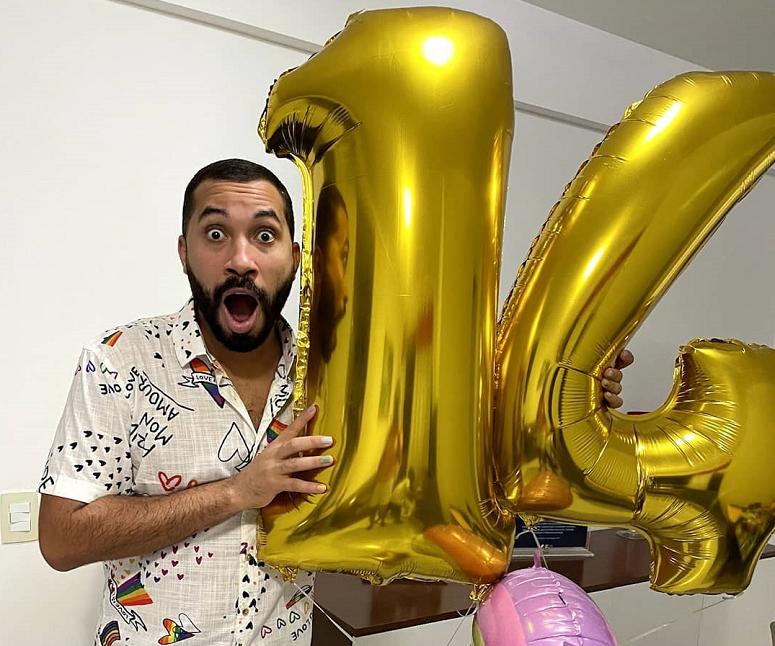 Gil do Vigor conquistou 14 milhões de seguidores no Instagram (Foto: Instagram)