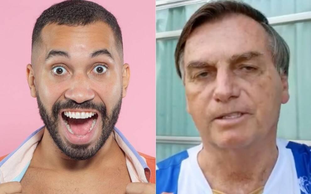 O ex-BBB já havia dito ser contra Bolsonaro. (Foto: Instagram)