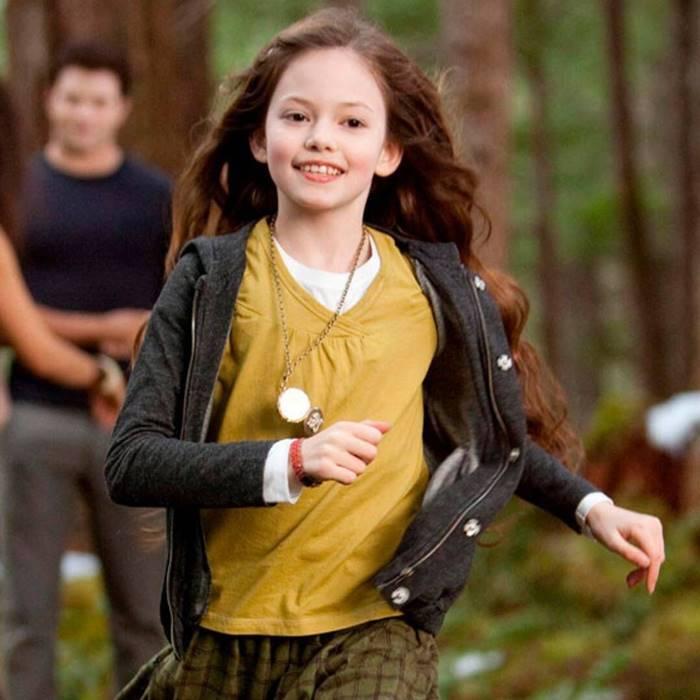 Mackenzie Foy, que deu vida à Renesmee Cullen, a filha de Bella e Edward. (Foto: Divulgação)