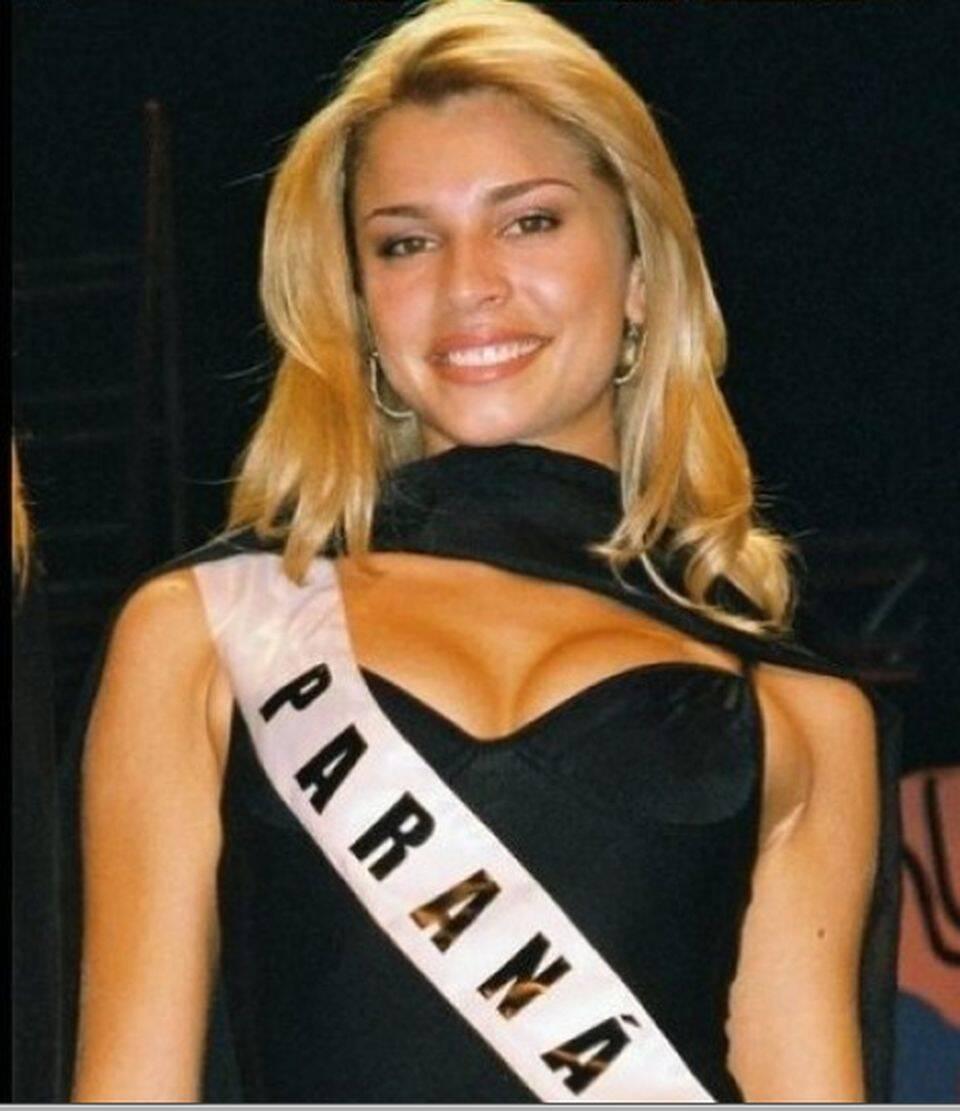 Ela já havia ganhado o concurso Miss Paraná em 2004, mas decidiu investir na carreira de atriz. (Foto: Divulgação)