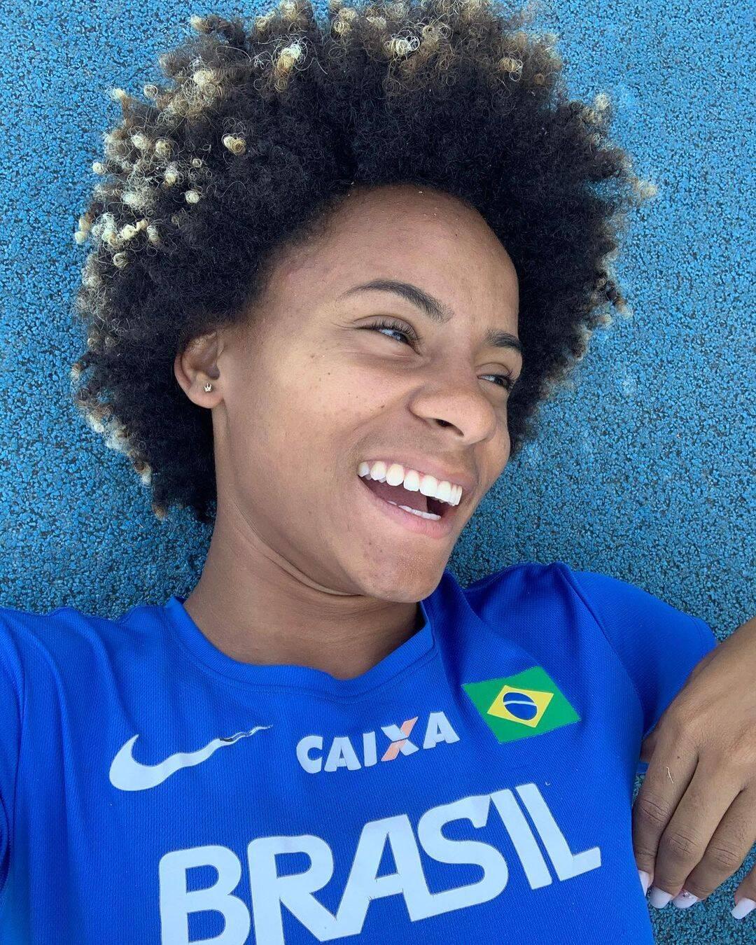 Tiffani Marinho é uma das velocistas que representará o Brasil na prova dos 400m rasos e do revezamento 4x400m rasos misto nos Jogos Olímpicos de Tóquio 2020. (Foto: Instagram)