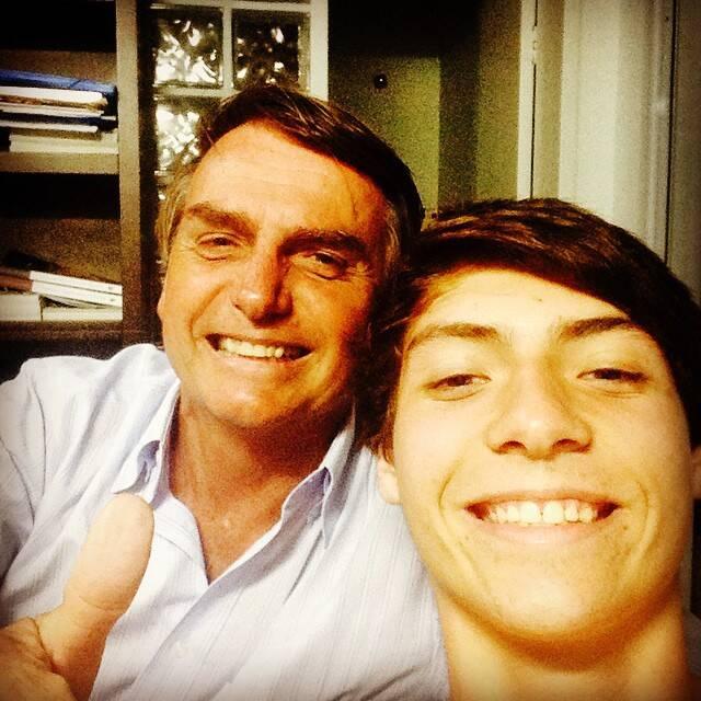 Ele é conhecido como o filho '04' (Foto: Instagram)
