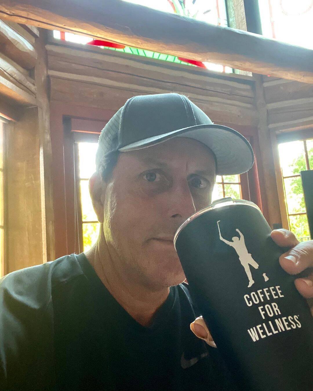 Phil Mickelson do golfe recebeu US$ 41 milhões (Foto: Instagram)