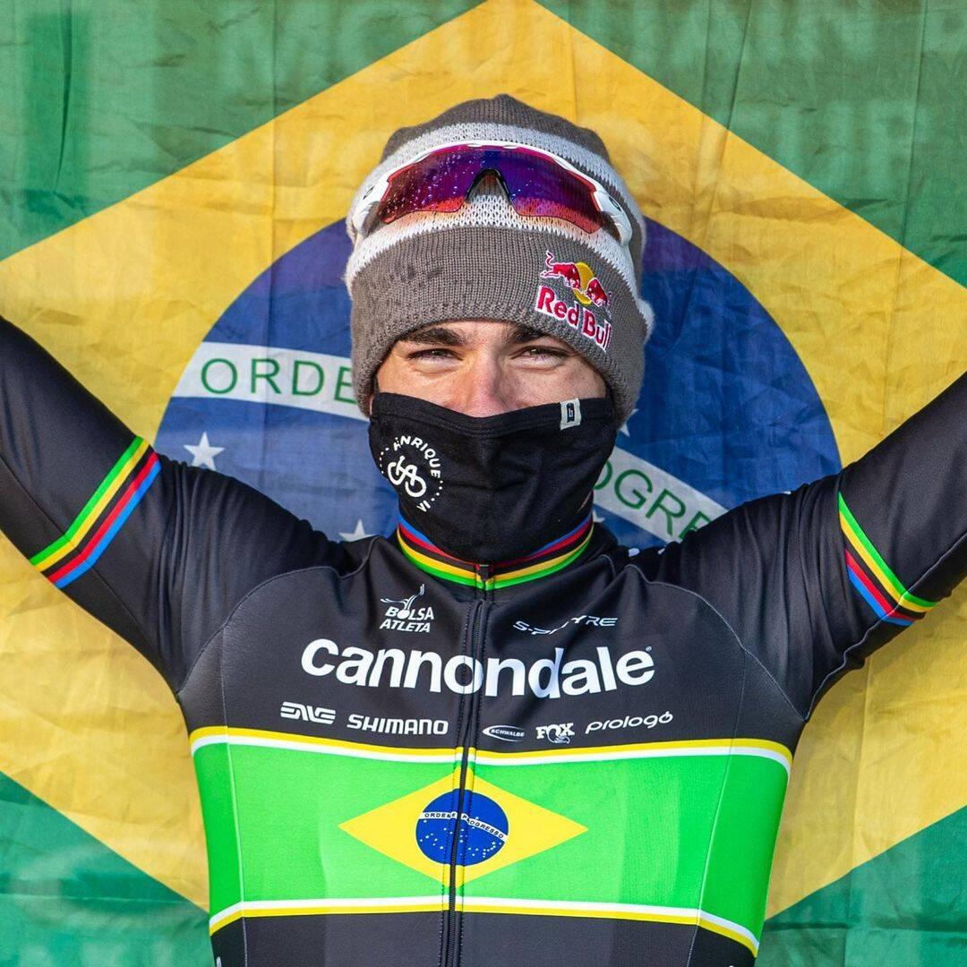 Henrique Avancini é uma atleta do Time Ajinomoto do ciclismo mountain bike (MTB) e que pode surpreender na prova do cross country (XCO) e levar uma medalha nos Jogos Olímpicos de Tóquio. (Foto: Instagram)
