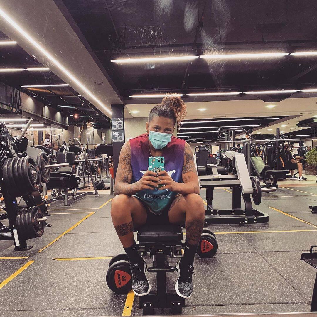 Judoca Rafaela Silva foi vítima de agressões verbais e que era melhor ela largar o esporte (Foto: Instagram)