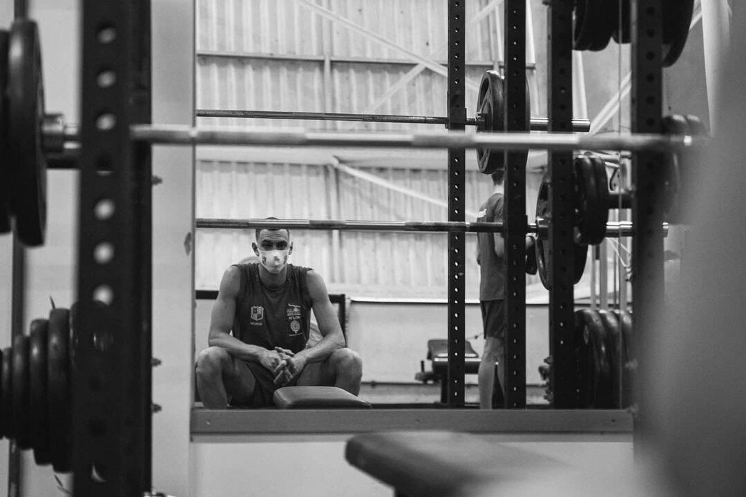 O atleta é gaúcho e tem apenas 23 anos. (Foto: Instagram)