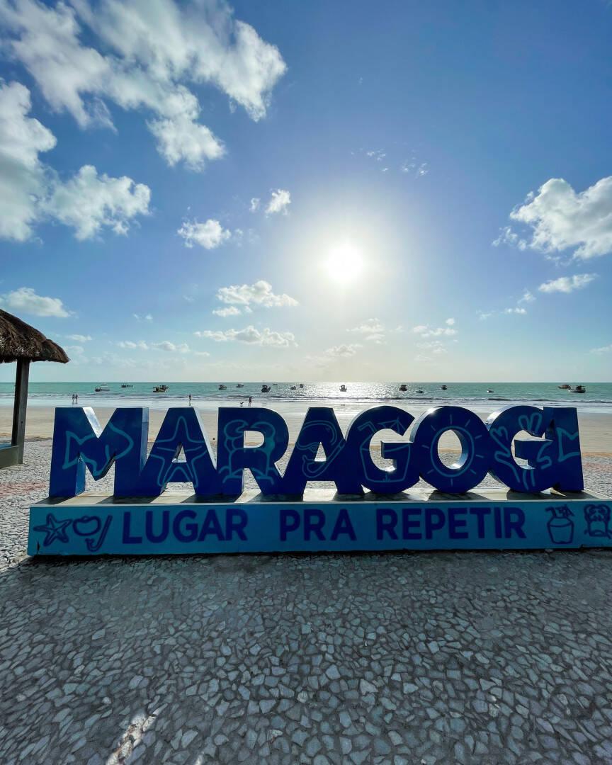 Entre os destinos alagoanos, Maragogi é um dos lugares mais bonitos e, felizmente, mais baratos. (Foto: Instagram)