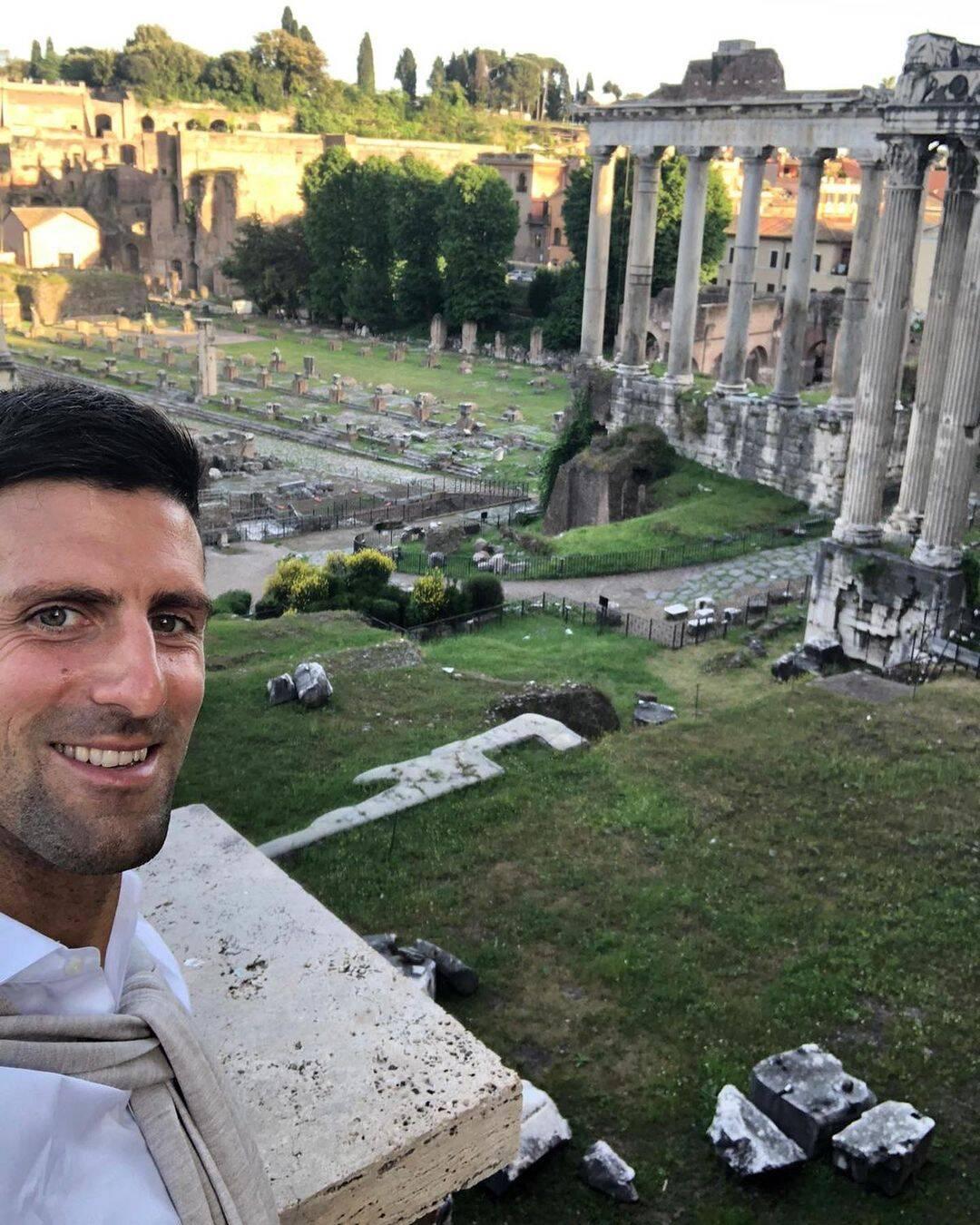O tenista Novak Djokovic recebeu US$ 34,5 milhões (Foto: Instagram)