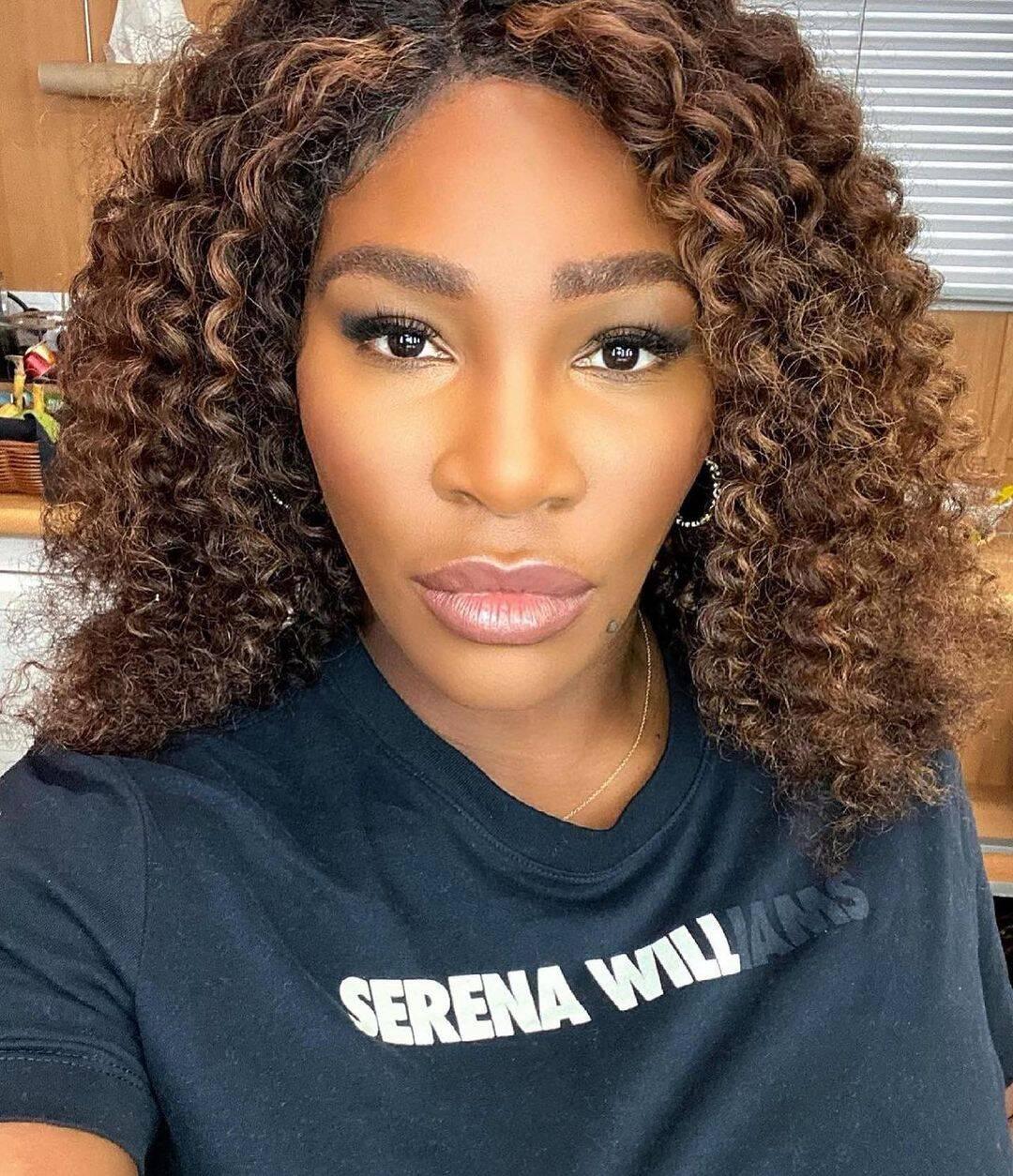 A tenista Serena Willians, recebeu comentários racistas de jornalista (Foto: Instagram)
