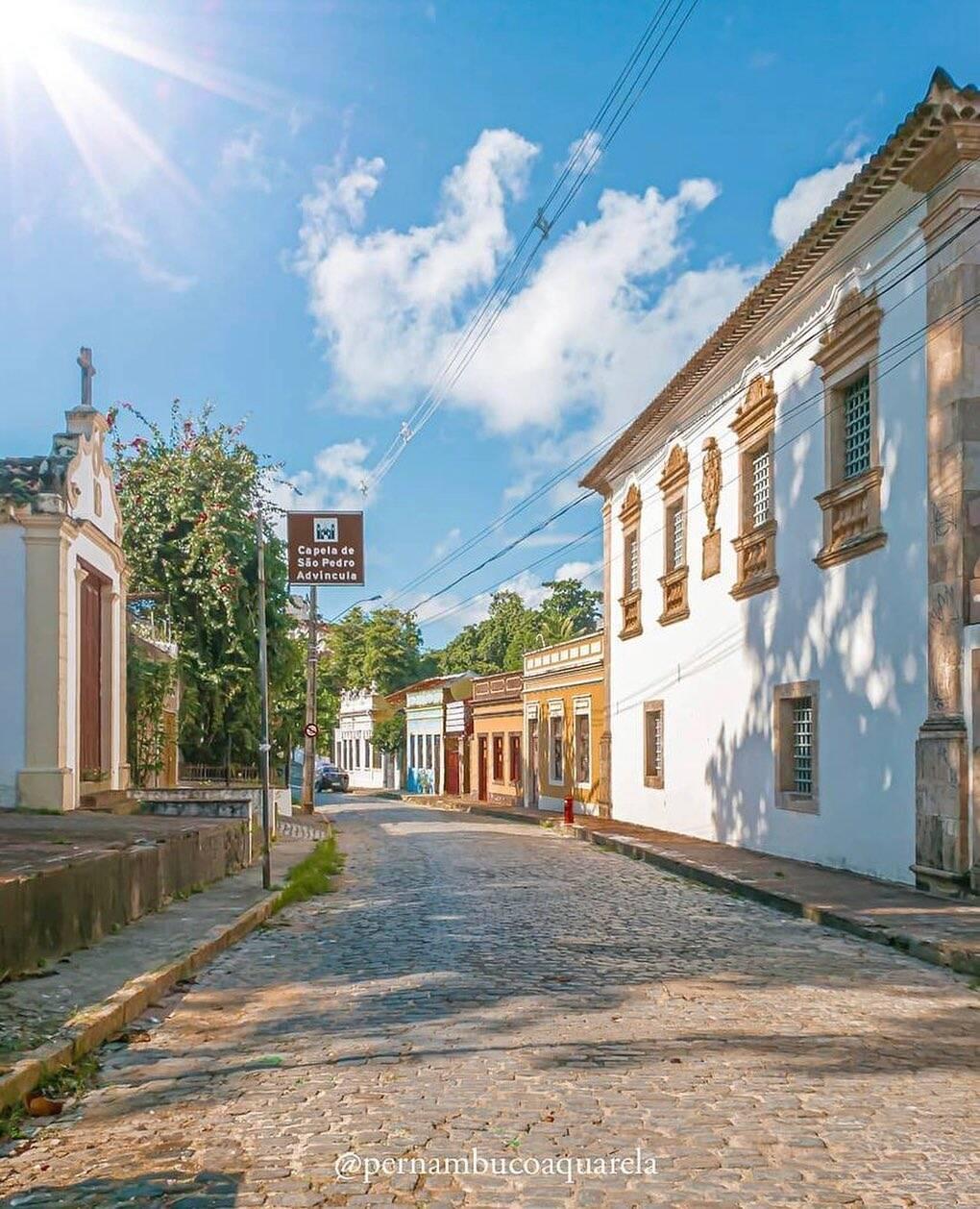 Olinda impressiona os fãs de arquitetura. (Foto: Instagram)