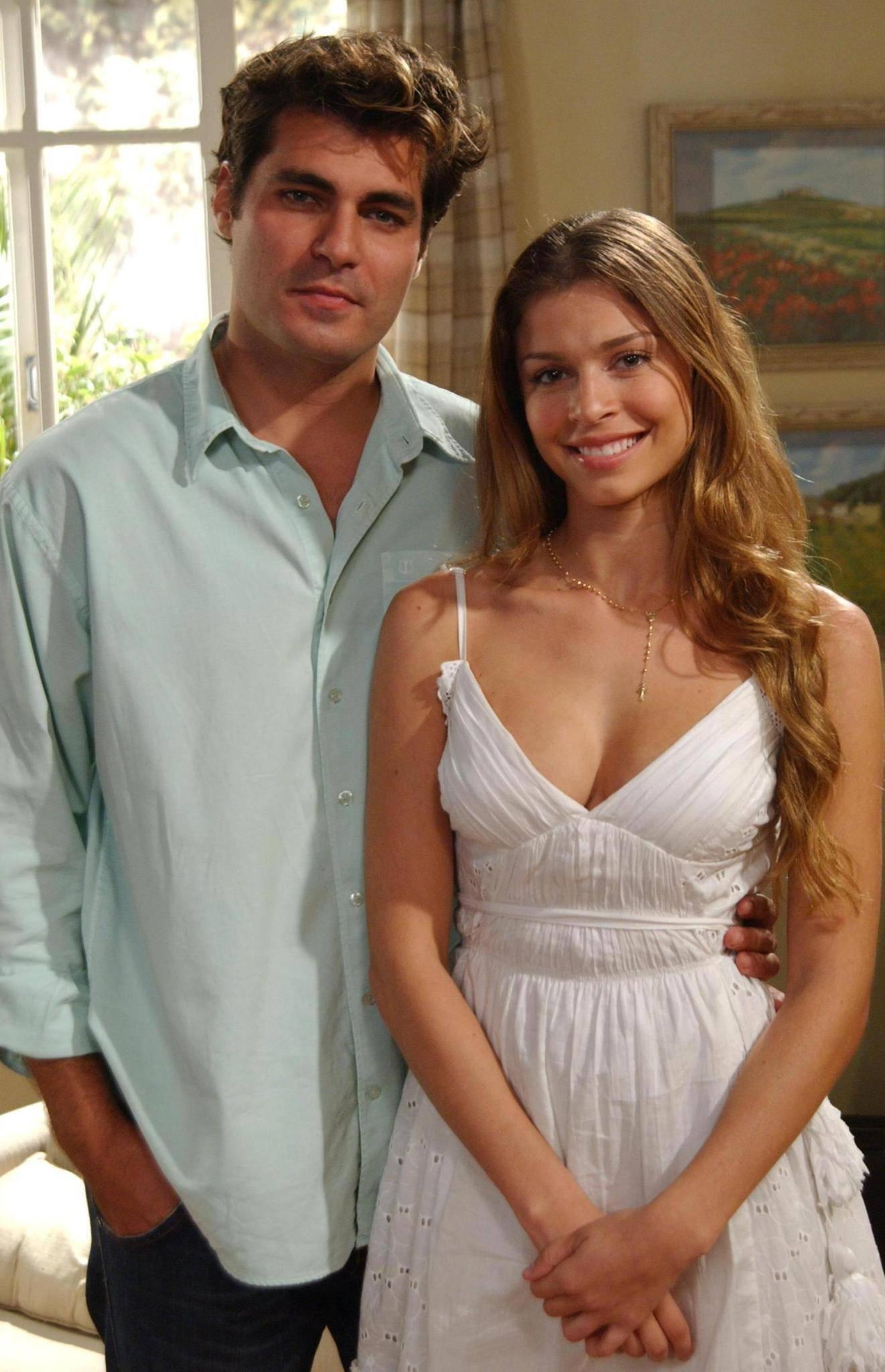 E fez seu primeiro papel como atriz coadjuvante da novela Páginas da Vida, da Rede Globo, em 2006. (Foto: Divulgação)