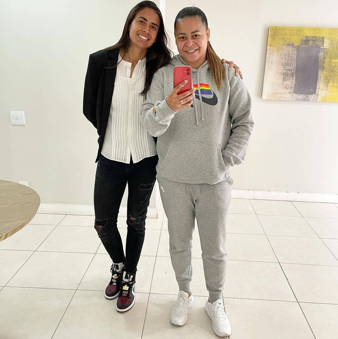 Andressa Alves jogadora de futebol do Brasil (Foto: Instagram)
