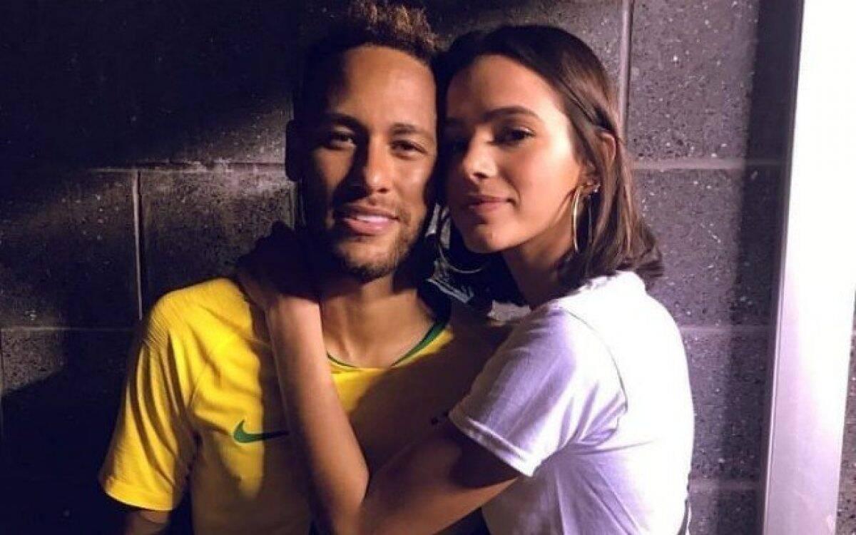 Bruna teria ido ao evento organizado por Gabriel David e acabou esbarrando com Neymar. O ocorrido repercutiu muito nas mídias. (Foto: Instagram)