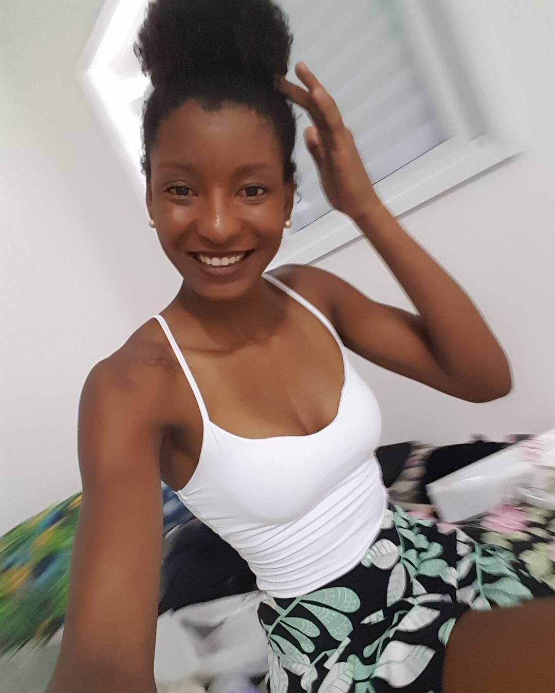A atleta Núbia Aparecida Soares tem 25 e é natural de Minas Gerais. (Foto: Instagram)