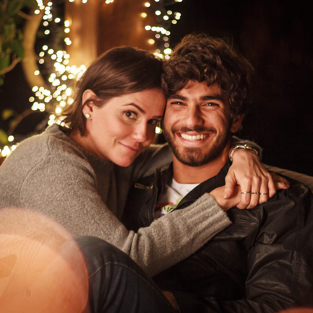 Na época em que conheceu Hugo, a atriz estava vivenciando um relacionamento conturbado. (Foto: Divulgação)