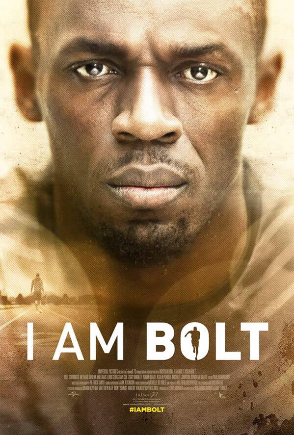 I Am Bolt - Conheça a trajetória do velocista jamaicano Usain Bolt, um dos maiores atletas olímpicos. O filme o mostra enquanto se preparava para os Jogos Olímpicos do Rio 2016. (Foto: Instagram)