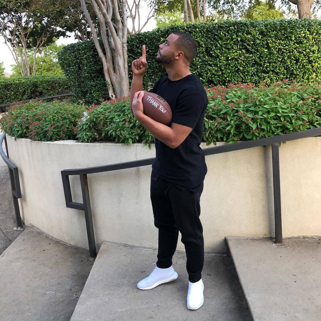 O jogador de futebol americano Dak Prescott recebeu US$ 107,5 milhões (Foto: Instagram)