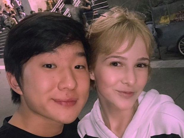 Na última semana, as cenas dos dois na cama foram ao ar e a separação de Pyong e Sammy voltou a repercutir. Após rumores de que Pyong teria traído Sammy, ela voltou a se pronunciar e anunciou a separação. (Foto: Instagram)