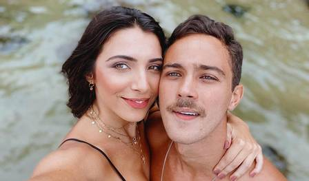 André Luiz Frambach e Rayssa Bratillieri terminaram neste ano. (Foto: Instagram)