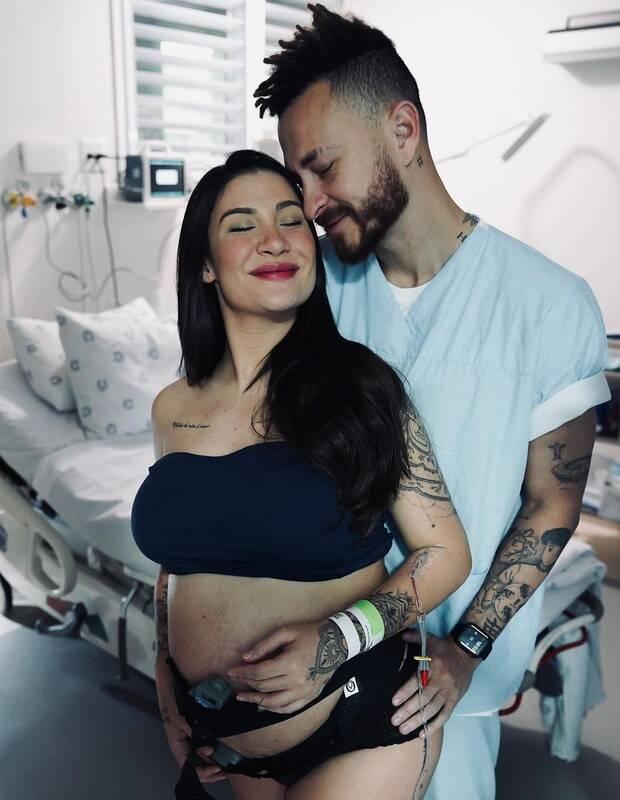 Que se tornou assunto desde o anúncio da gravidez de Bianca por ter ganhado um chá de revelação no Maracanã. (Foto: Instagram)