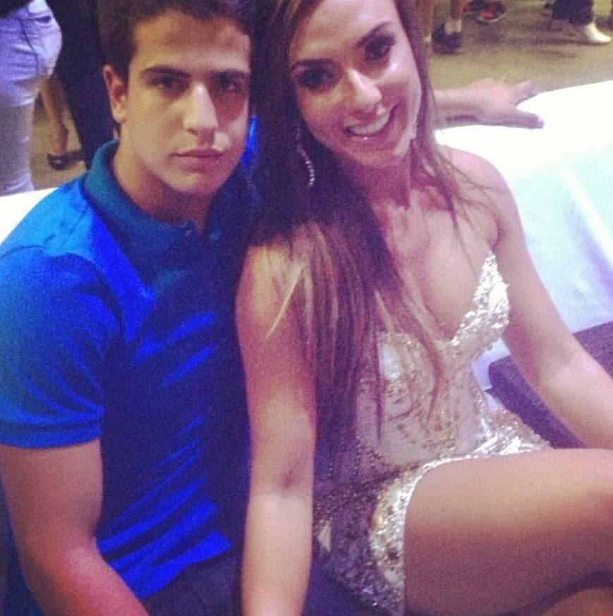 Não é segredo também que a modelo teve uma paquera com Enzo Celulari, filho dos atores Claudia Raia e Edson Celulari. (Foto: Instagram)