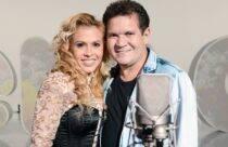 Joelma e Chimbinha- após se manter por 18 anos em silêncio, a cantora decidiu se separar de Chimbinha em 2015. (Foto: Globo)