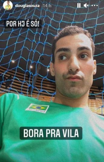 O jogador de vôlei da Seleção Brasileira surgiu na manhã desta quinta-feira (22), mais sério. (Foto: Instagram)