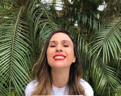 A artista fez a revelação em seus stories do Instagram (Foto: Instagram)