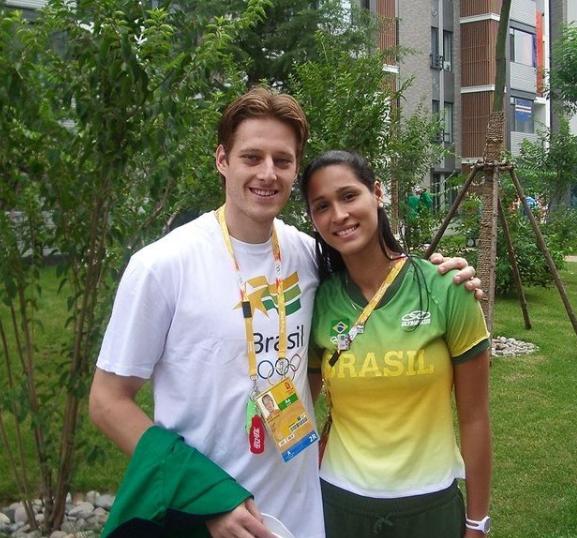 Jaqueline e Murilo Endres (Foto: Instagram)