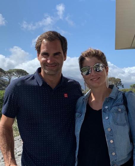 Roger Federer e Mirka Federer (Foto: Instagram)