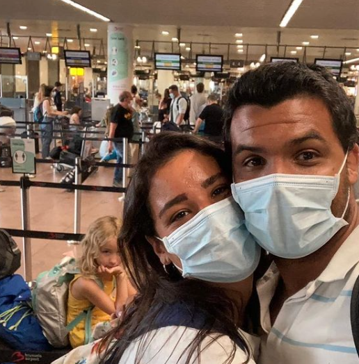 Joanna Maranhão e Luciano Corrêa (Foto: Instagram)