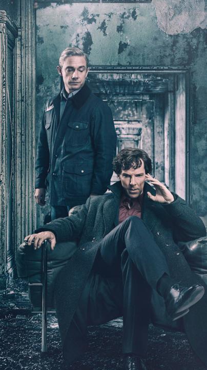 Sherlock - O dr. John Watson precisa de um lugar para morar em Londres. Ele é apresentado ao detetive Sherlock Holmes e os dois acabam desenvolvendo uma parceria intrigante, na qual a dupla vagará pela capital inglesa solucionando assassinatos e outros crimes brutais. (Foto: Divulgação)