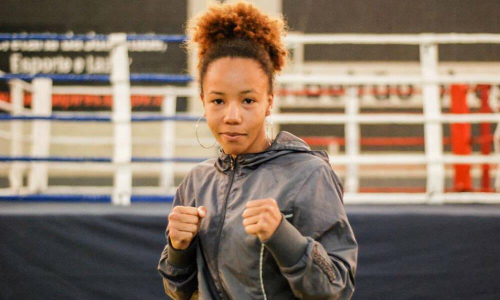 Graziele é uma atleta do boxe brasileiro da categoria peso mosca (até 51kg) feminino que defenderá o Brasil nos Jogos Olímpicos. (Foto: Facebook)