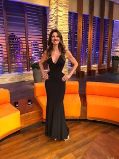 Ana Maria já vestiu a apresentadora Luciana Gimenez (Foto: Divulgação)