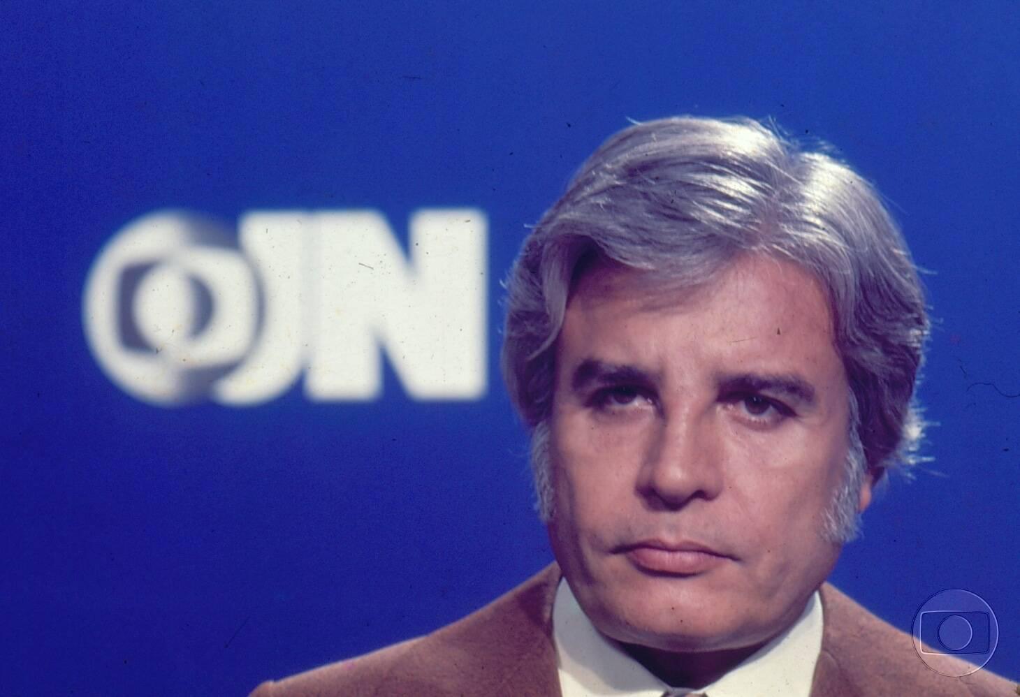 Ele trabalhou décadas no comando do Jornal Nacional (Foto: Divulgação)