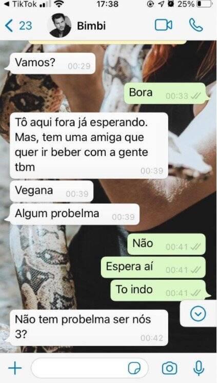 Prints da conversa entre Marcelo e a suposta amante, Marília Gabriela, vieram à tona (Foto: Divulgação)