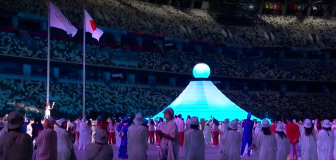 A cerimônia abordou a diversidade e respeito. (Foto: TV Globo)
