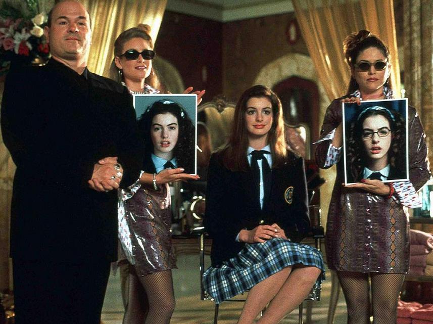 O filme representou a estreia de Anne Hathaway em Hollywood. (Foto: Divulgação)