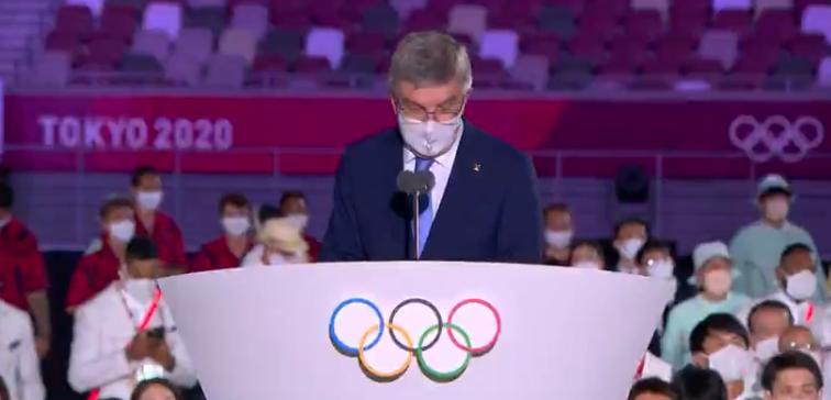 E agradeceram os profissionais de saúde. (Foto: TV Globo)