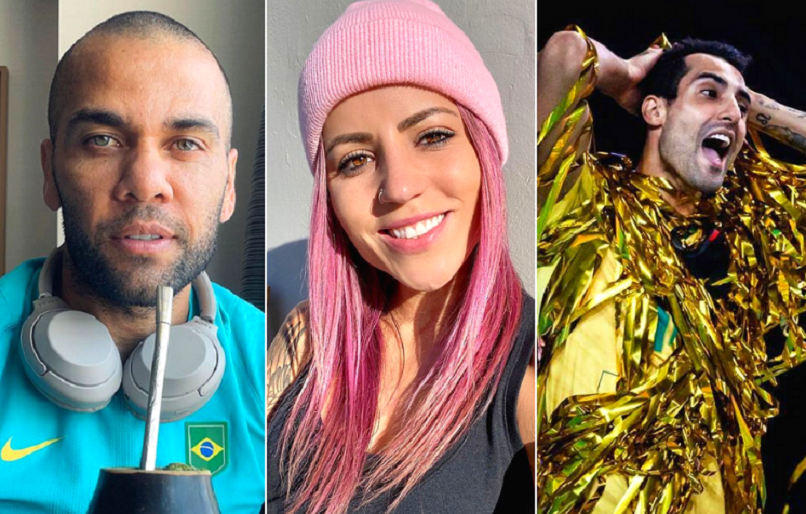 Descubra quais são os 10 atletas olímpicos brasileiros com mais seguidores no Instagram. Confira a galeria: (Foto: Instagram)