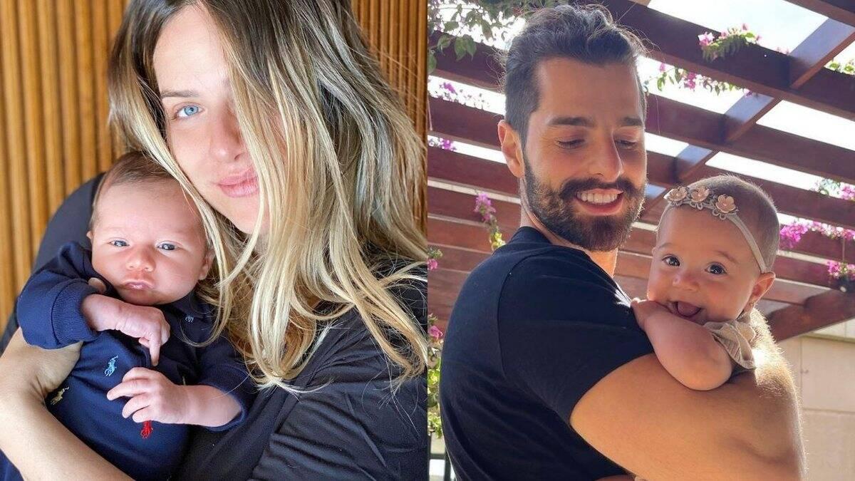 Mesmo diante da pandemia e do isolamento social causados pelo coronavírus, a chegada de novos integrantes na família de alguns famosos aqueceu o coração dos fãs. Relembre quem são eles. (Fotos: Instagram)