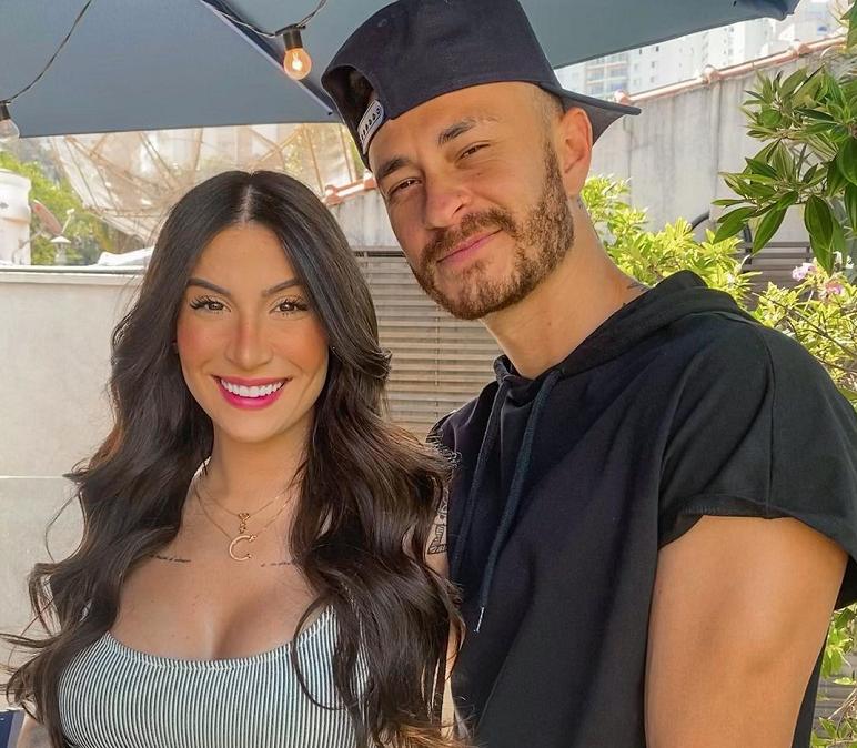 """Recentemente, Bianca Andrade, a 'Boca Rosa', desabafou sobre o vazamento de sua gravidez: """"Foi tão difícil para a gente"""". E completou: """"Foi muito difícil vazar dessa maneira, e ainda na semana em que descobri que estava grávida"""". (Foto: Instagram)"""